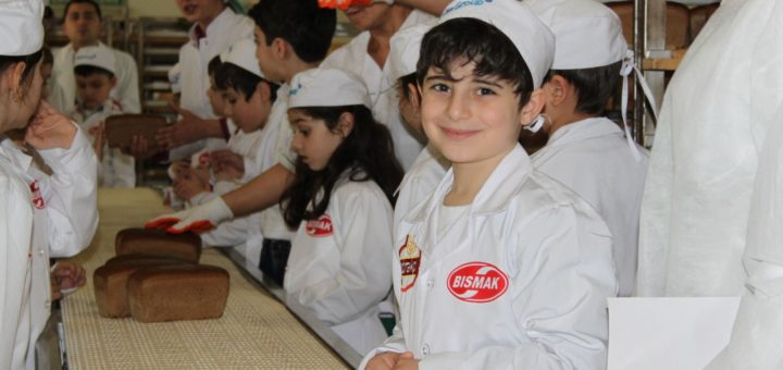 "For the pupils of the secondary school No. 158 in the Yasamal district, was organized an infotour to the ""Çörəkçi"" plant."